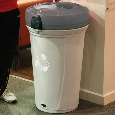 Nexus® 130 Plastic Bottle Recycling Bin