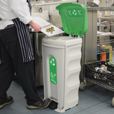 Nexus® Shuttle Catering Waste Bin